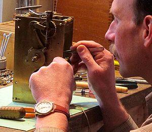 repairing a heirloom clock