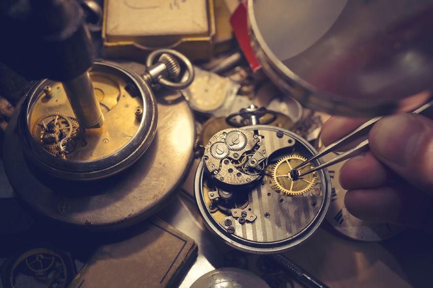 repairing a broken clock